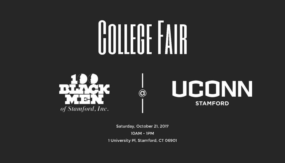 100 Black Men of Stamford College Fair